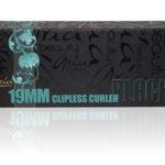 Black 19mm Ceramic Clipless Curler