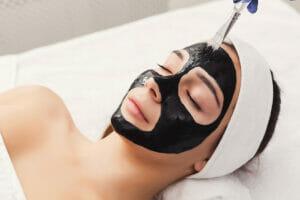 masker wajah alami