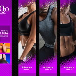 DanQo Fit Fitness Advance 4 Week Program