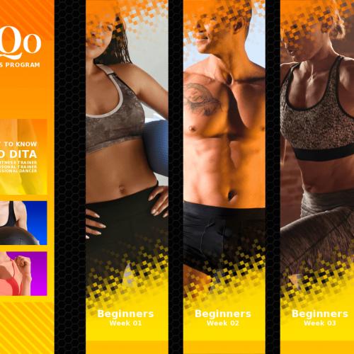 DanQo Fit Fitness Beginners 4 Week Program