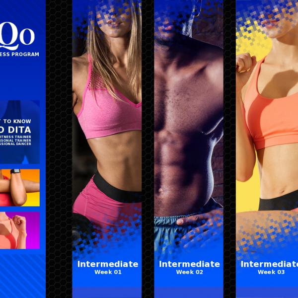 DanQo Fit Fitness COMPLETE 12 Week Program 3